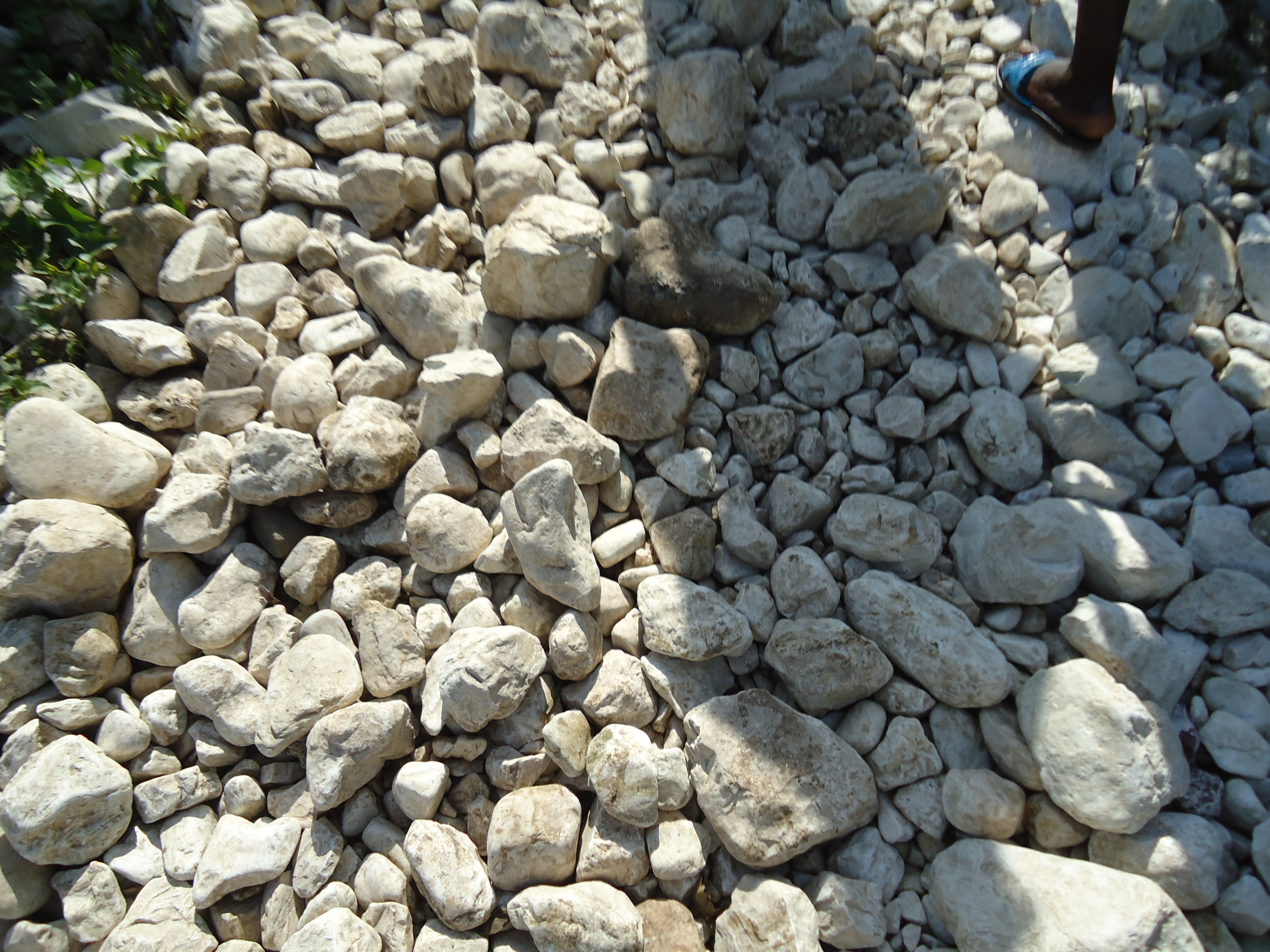 Rocks in Haiti