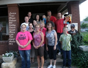 July August 2012 Group