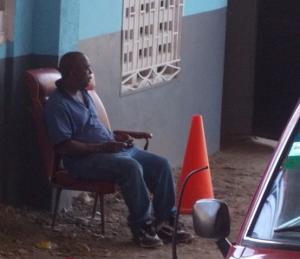 Waiting in Haiti